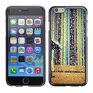 MOBMART Carcasa Funda Case Cover Armor Shell PARA Apple iPhone 6 PLUS / 6S PLUS 5.5 - Falling Colors Of Raindrops
