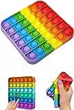Kare Push Pop - Pop It Push Bubble Fidget Özel Pop Duyusal Oyuncak Zihinsel Stres