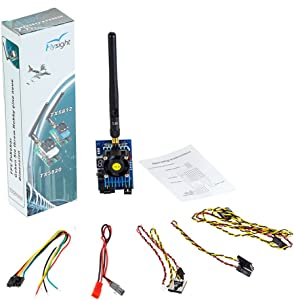 FPV Transmitter 5.8GHz FPV VTX 32CH FPV Video Transmitter 1200mW 6-7km Long Range Audio Wireless Video Transmitter(TX5812-RPSMA)-by Flysight