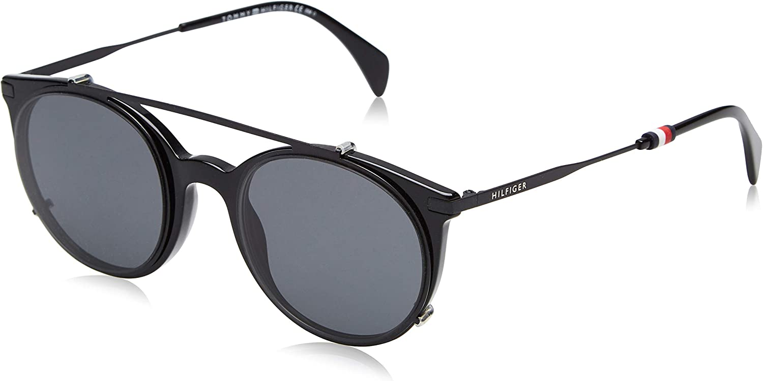 Tommy Hilfiger TH 1475/C 99 Gafas de sol, Black, 50 Unisex-Adulto