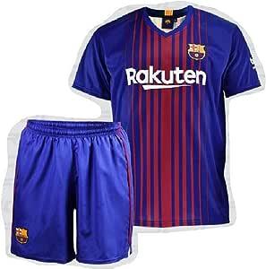 Camiseta & Pantalón FC Barcelona Niño: Amazon.es: Deportes y aire ...