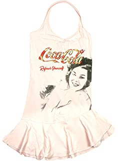 82d03d153a6 Coca Cola Girls Official Halter Neck Stretch Cotton Fashion Dress Sizes  from 12 to 18 Years