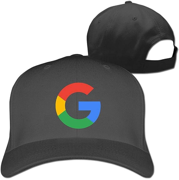 GlyndaHoa ベースボールキャップ Googleロゴ フリーサイズ