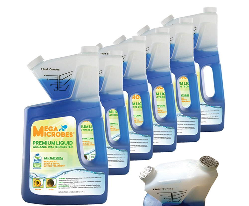 MegaMicrobes Liquid 64-Ounce Case of 6 by MegaMicrobes (Image #1)