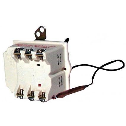 Cotherm - Termostato para calentador de agua - Tipo BSD 370 un solo bulbo, Contacto