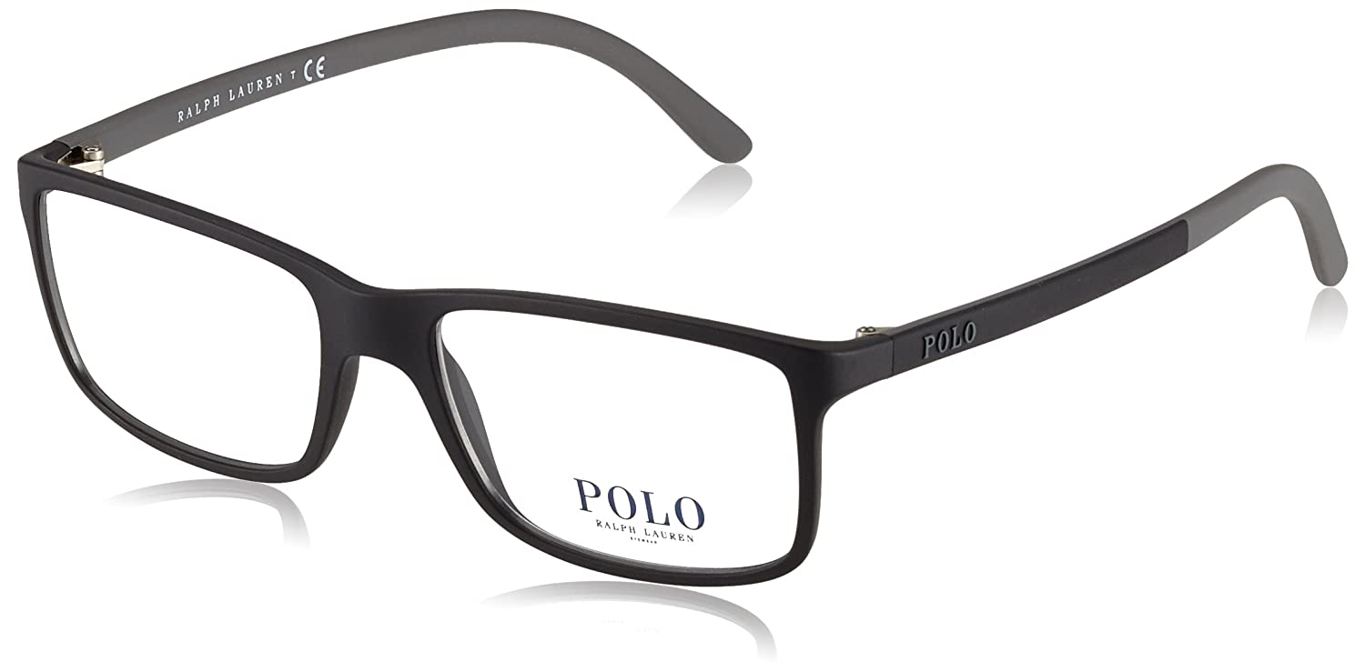 a1afe558db13 Amazon.com: Polo Men's PH2126 Eyeglasses Matte Black 53mm: Clothing