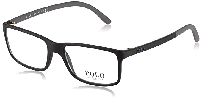 b8817031f165 Image Unavailable. Image not available for. Color: Polo Men's PH2126  Eyeglasses Matte Black 53mm