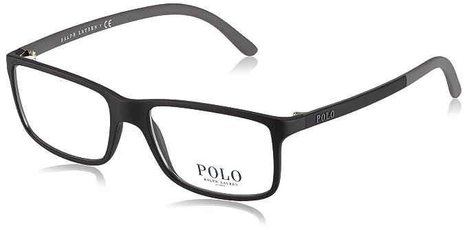 2f386290644 Amazon.com  Polo Men s PH2126 Eyeglasses Matte Black 53mm  Clothing