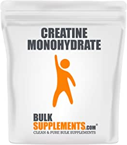 BulkSupplements.com Creatine Monohydrate (Micronized) (1 Kilogram)