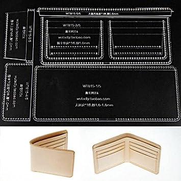 fujiyuan 1 Set Acryl Leder Vorlage Muster Nähen Worker Unisex Modell ...