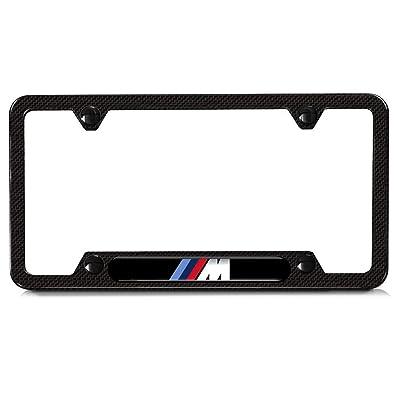 BMW M 82112348413 Carbon Fiber License Plate Frame: Automotive