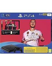PS4 Slim 1 To F Noir + FIFA 20 + PS Plus 14 jours (Digital)