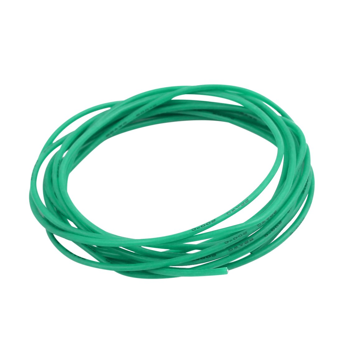 uxcell 22 AWG Silicone Wire 22 Gauge Electric Wire Hook up Wire Cable 6.5 Feet Soft and Flexible 60 Strands 0.08mm of Tinned Copper Wire High Temperature Resistance Green