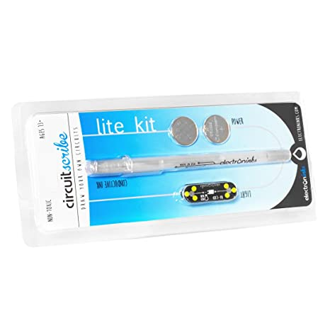 Amazon.com: Circuit Scribe Pen Lite Kit: Draw Circuits Instantly ...