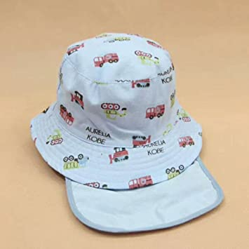 e9ecd75fa406a Kazumiya ベビー用ハット つば広 赤ちゃんキャップ キッズ 帽子 子供サンバイザー 花柄 女の子