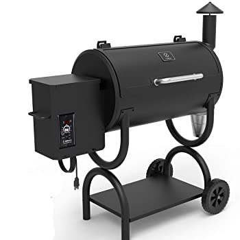 Z-Grill 2019 Upgrade Model Pellet Grill Offset Smoker