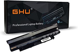 New GHU Battery 58 WH Replacement for J1KND 4T7JN WT2P4 383CW 312-1205 312-0233 312-0234 312-1280 Compatible for Dell Inspiron 3420 3520 13R (N3010) 14R (N4010 N4110) (N5010 N5110) N7010