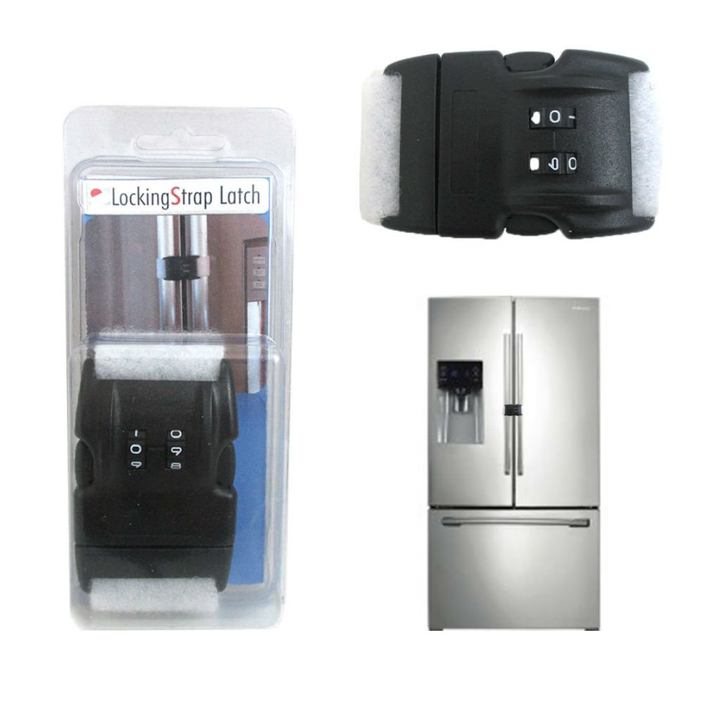 Home Safety 2 Digit Combination Lock Latch Refrigerator Appliances Baby Proofing