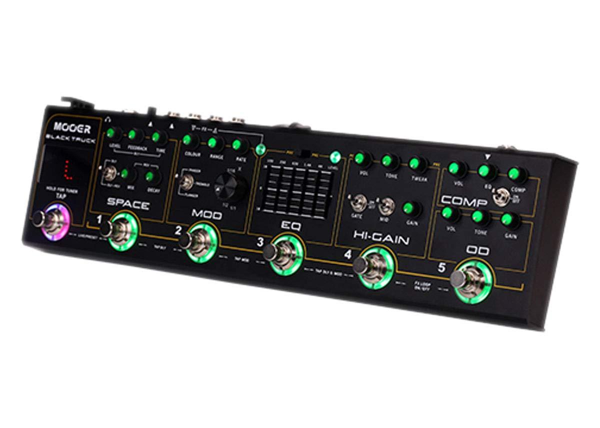 Mooer Black Truck Pedal de efectos combinado: Amazon.es: Instrumentos musicales