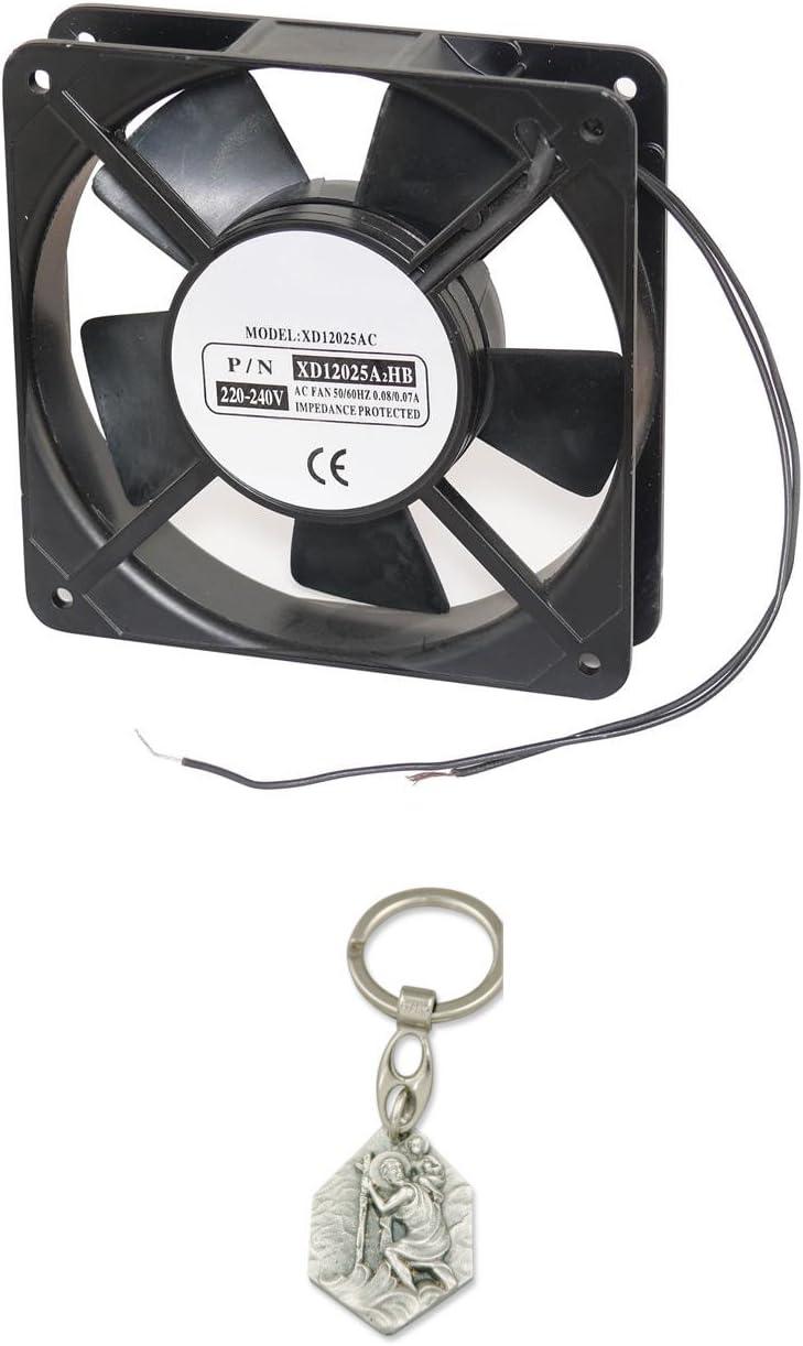 Sintr Ventilateur sur roulement à Billes 230 VCA 120 x 120