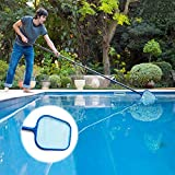 Rongbo Deep-Bag Pool Rake & Swimming Leaf Skimmer