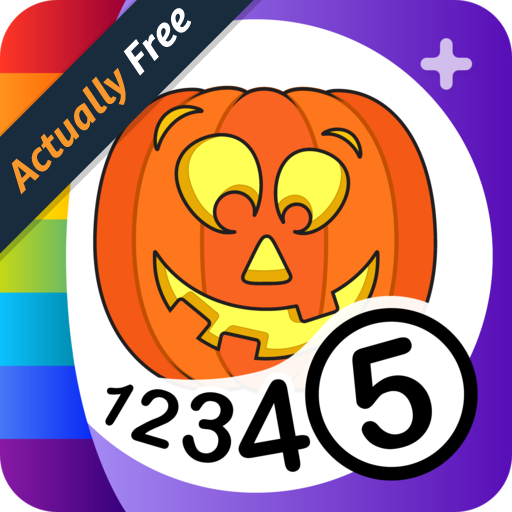Color by Numbers - Halloween + -
