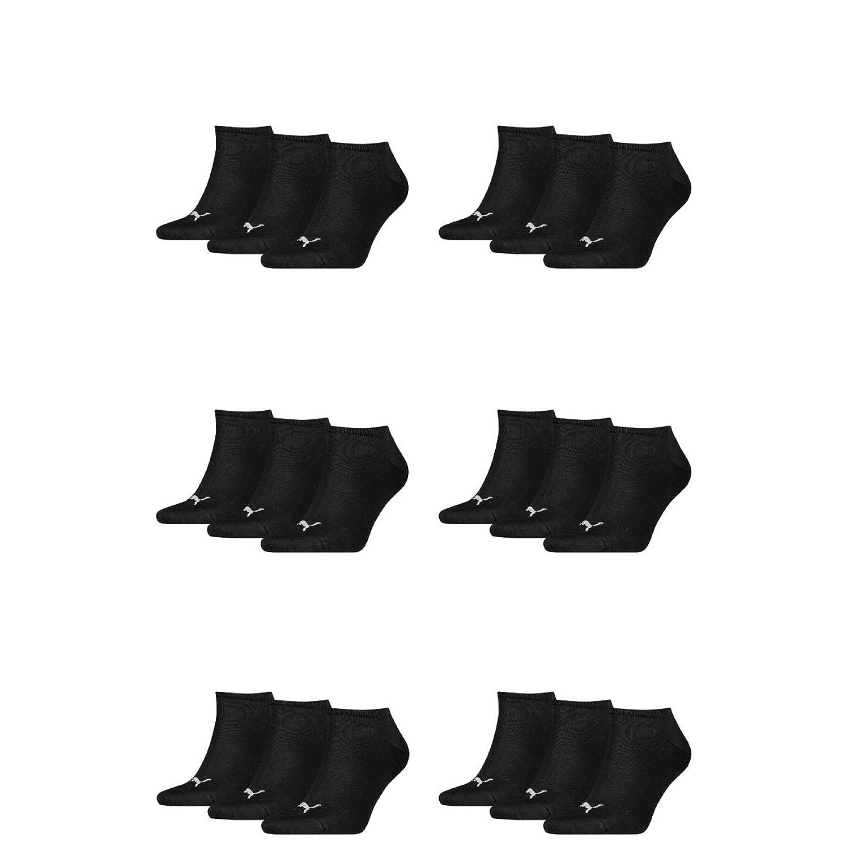 18 pair Puma Sneaker Invisible Socks Unisex Mens & Ladies