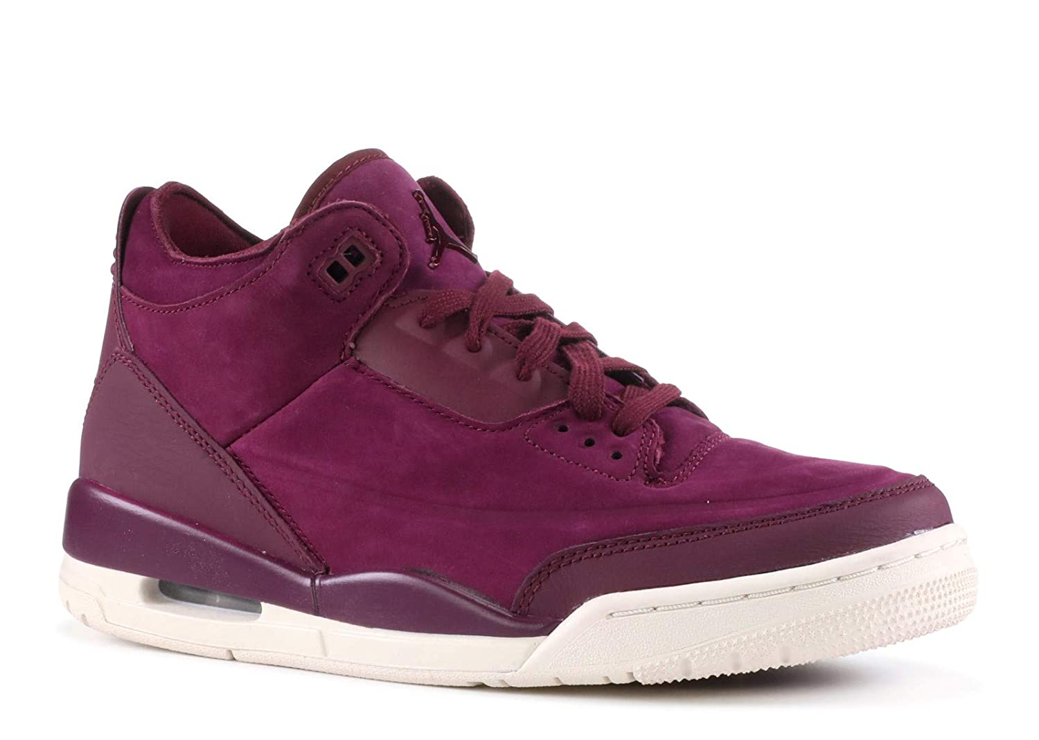 Image of AIR JORDAN 3 Retro Se 'Bordeaux' Womens -Ah7859-600 - Size Basketball