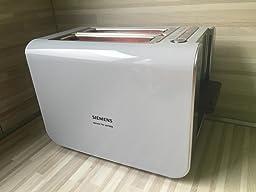 siemens tt86103 toaster 860 watt f r 2. Black Bedroom Furniture Sets. Home Design Ideas