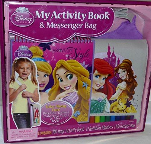 - Disney Princess My Activity Book & Messenger Bag