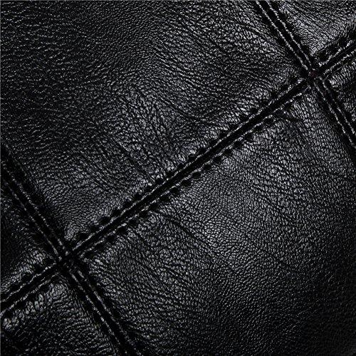 d1349bf14810c ... Weinrot Original-Frauen Leder Schultasche Weiblichen Mini Umhängetasche  Schultertasche Leder Japanische Kunst-Paket
