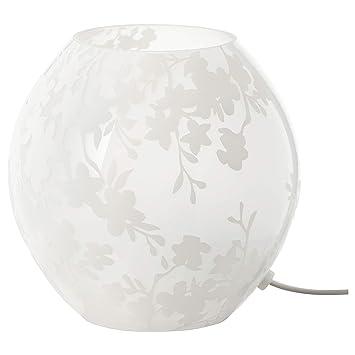 IKEA KNUBBIG - Lámpara de mesa, cerezos flores blancas - 18 ...