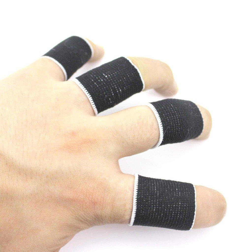 Homyl Safe Sports Finger Protector Finger Sleeves Support Basketball Volleyball
