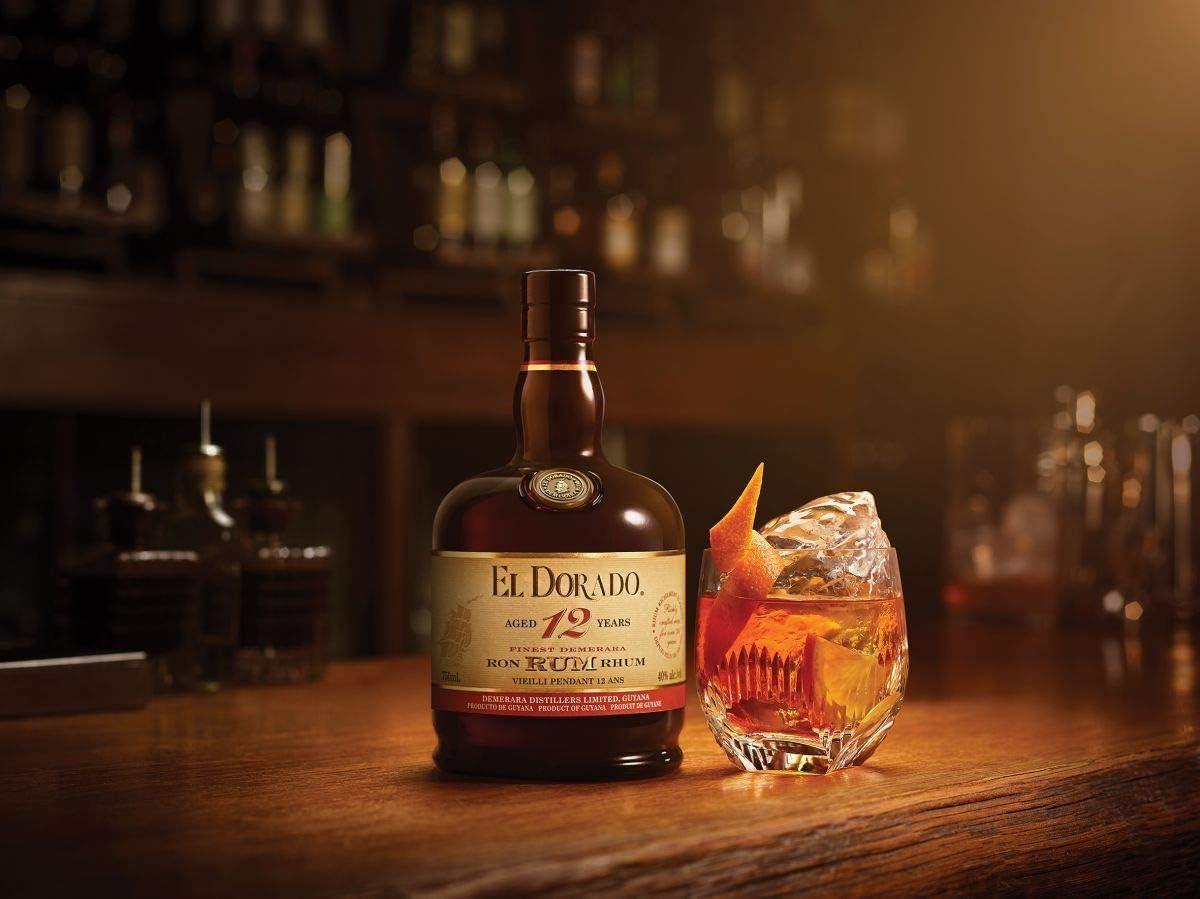 El Dorado 12YO Gold Rum 70cl: Amazon.es: Alimentación y bebidas