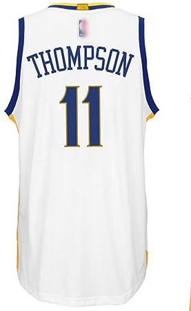 Golden State Warriors 11 klay Thompson personalizada Blanco Camiseta del tamaño XXL: Amazon.es: Deportes y aire libre