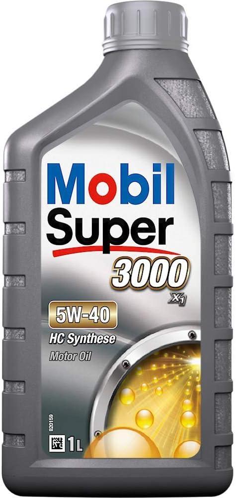 Mobil Super 3000 X1 5w 40 1 Litre Auto