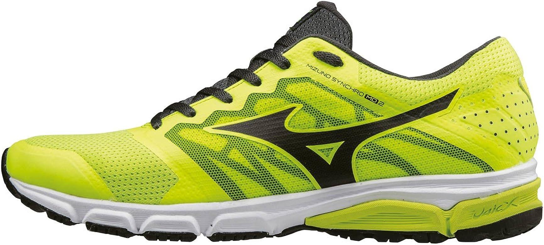 Mizuno Synchro MD 2, Zapatillas de Running para Hombre, Amarillo (Safety Yellow/Black/Dark Shadow), 40.5 EU: Amazon.es: Zapatos y complementos