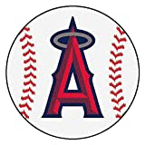 "Fan Mats ""anaheim Angels Mlb ""baseball"" Round Floor Mat (29"")"""