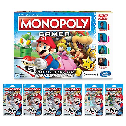 Monopoly Gamer Pack Bundle (Amazon Exclusive) ()