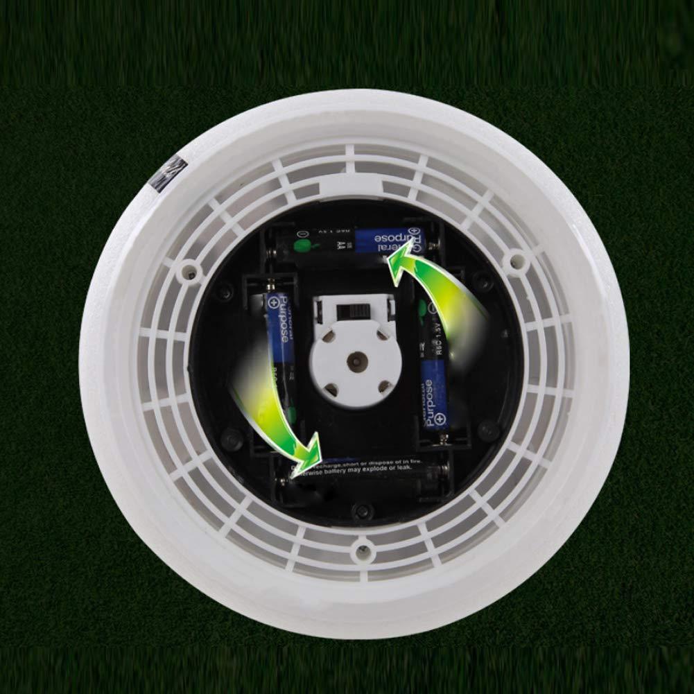 Deanyi Air Power-Fu/ßball-Fu/ßball-Spielzeug Suspended mit LED-Beleuchtung Spielzeug f/ür Kinderfu/ßball-Training Spiele f/ür Outdoor und Indoor Schwarz mit Musik