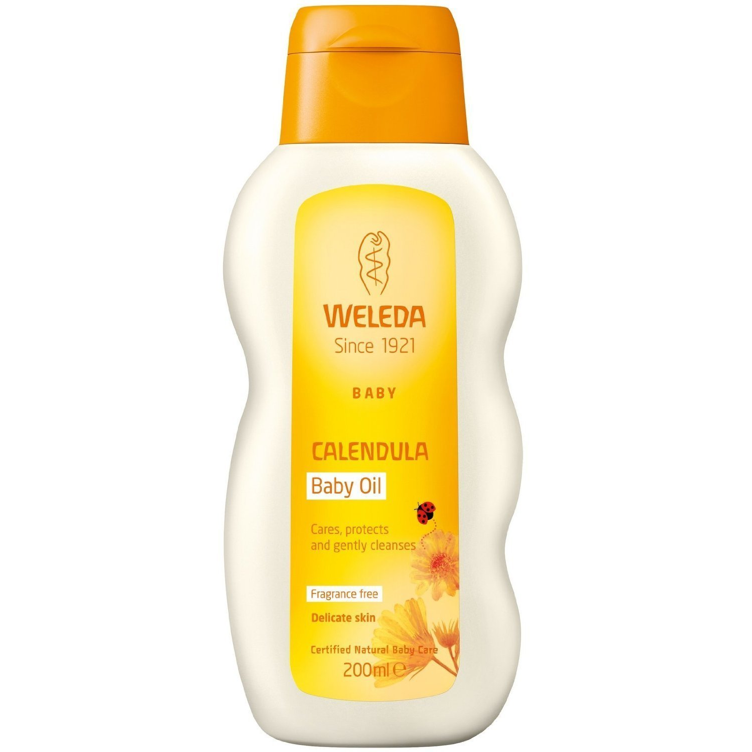 Weleda Calendula Baby Oil 200ml X 2 (Pack of 2) WELEDA (UK)