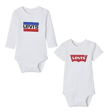 4e2d40157f Levi s kids Body Bebé-para Niños (Pack de 2)  Amazon.es  Ropa y accesorios