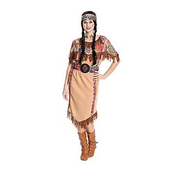 Kostumplanet Indianerin Kostum Damen Lang Indianer Kostum Wilder
