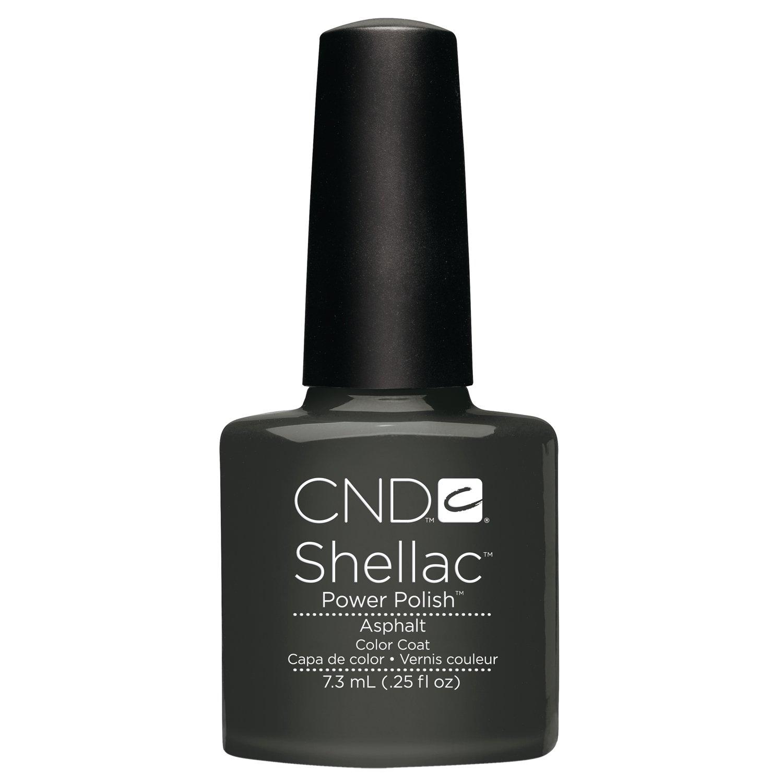 Amazon.com: Creative Nail Shellac, asphalt, 0.25 Fluid Ounce: Luxury ...