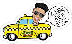 Andrews Mall CABS HERE Stickers (3 Pcs/Pack)