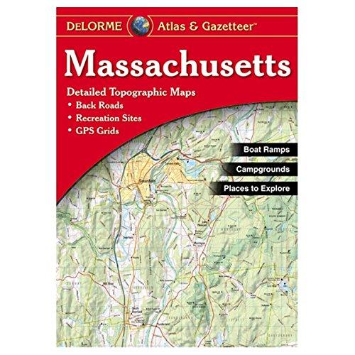 ダース観光ほとんどの場合Delorme Massachusetts Atlas - 341-9 by Delorme