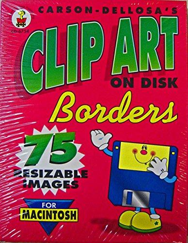 Carson-Dellosa's Clip Art On Disk, Borders, No. CD-6754 for Macintosh