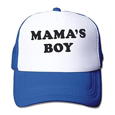 Supershua Unisex Mama's Boy Warm Chapeau RoyalBlue