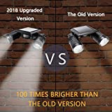 [2018 Upgraded Version] ASENEK Solar Lights, LED