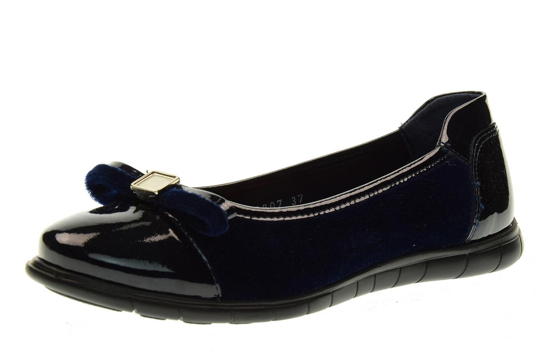 CALLAGHAN 20807.2 zapatos de mujer bailarina Azul / Negro
